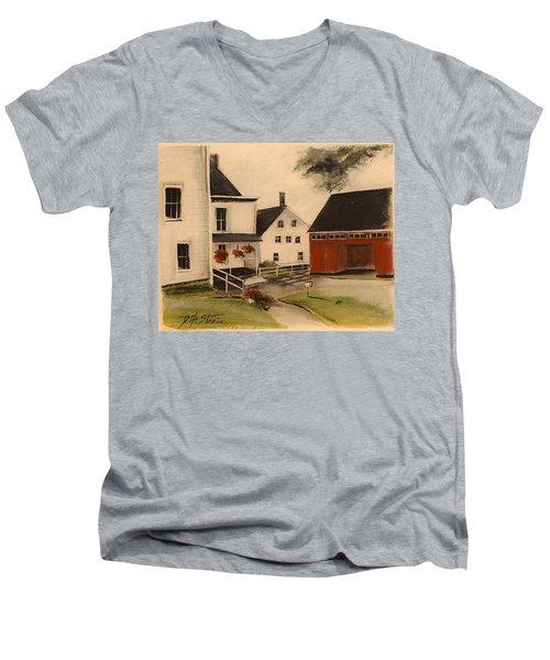The Farmhouse Men's V-Neck T-Shirt