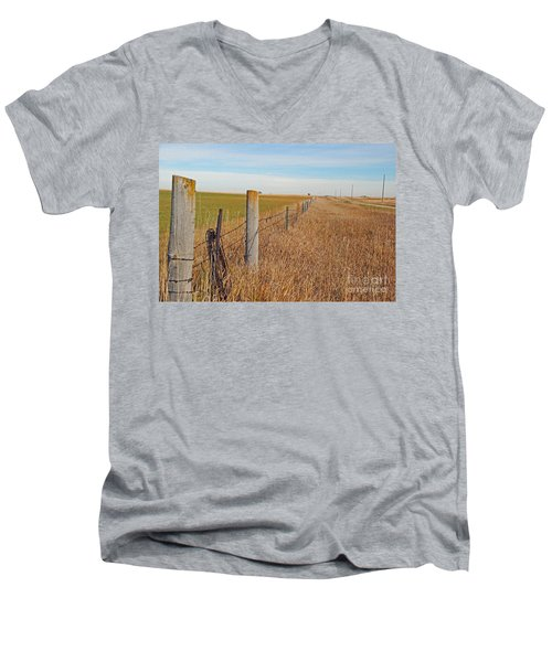 The Fence Row Men's V-Neck T-Shirt