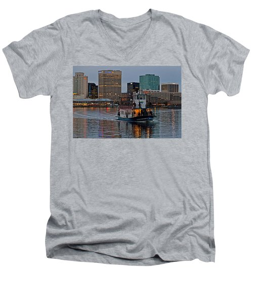 The Ferry To Portsmouth Men's V-Neck T-Shirt