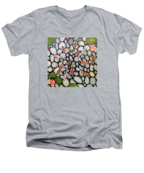 The Fish Pond Men's V-Neck T-Shirt