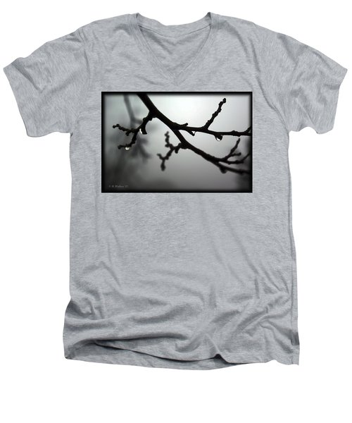 The Foggiest Idea Men's V-Neck T-Shirt by Brian Wallace