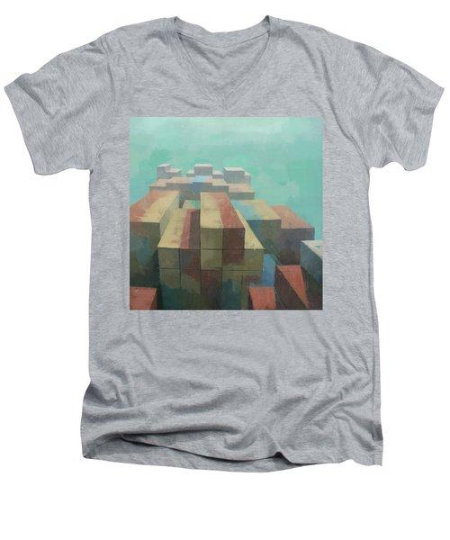 The Four Corners Men's V-Neck T-Shirt