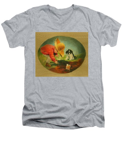 The Gardeners Men's V-Neck T-Shirt