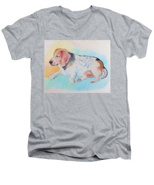 The Gentle Leader Men's V-Neck T-Shirt