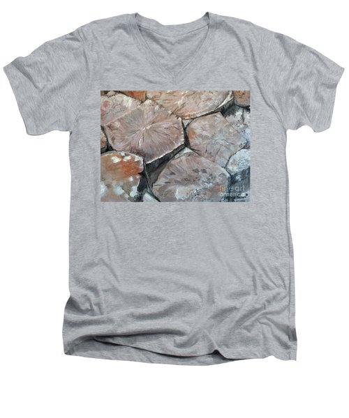 The Giant's Causeway Men's V-Neck T-Shirt