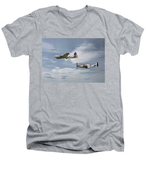 The Good Shepherd Men's V-Neck T-Shirt
