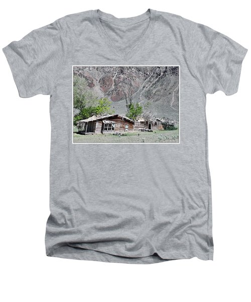 The Grass Is Greener When It's Growing On The Roof Men's V-Neck T-Shirt
