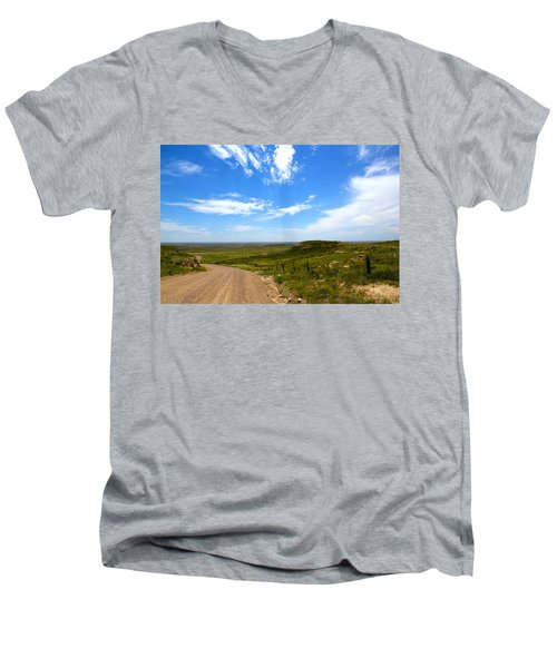 The Grasslands Men's V-Neck T-Shirt