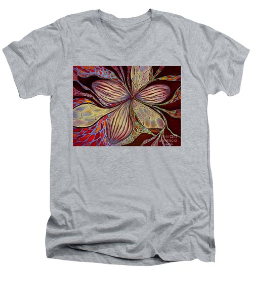 The Great Pollination Men's V-Neck T-Shirt