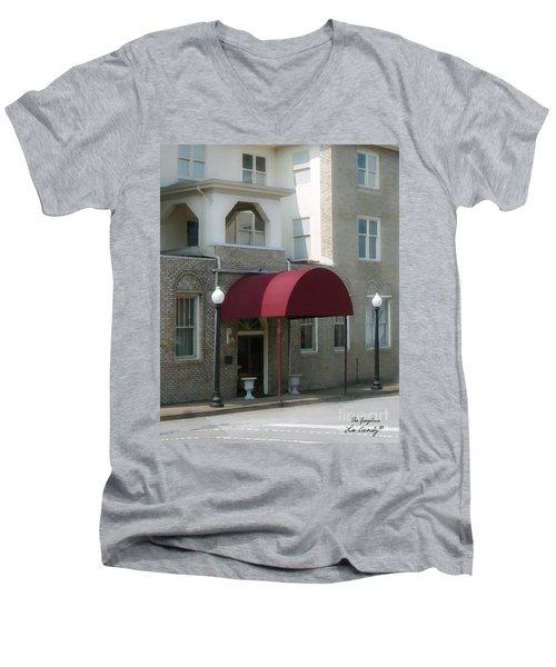 The Greystone Hotel Men's V-Neck T-Shirt
