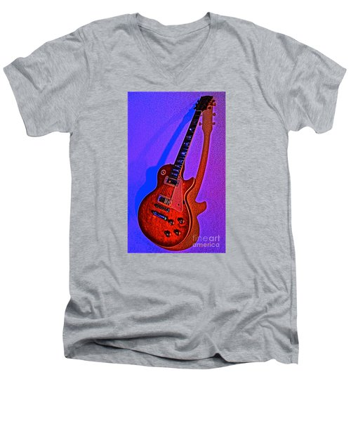 The Guitar After Party Men's V-Neck T-Shirt