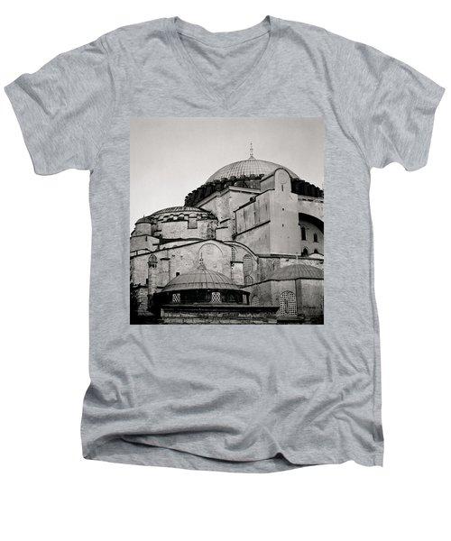 The Hagia Sophia Men's V-Neck T-Shirt by Shaun Higson