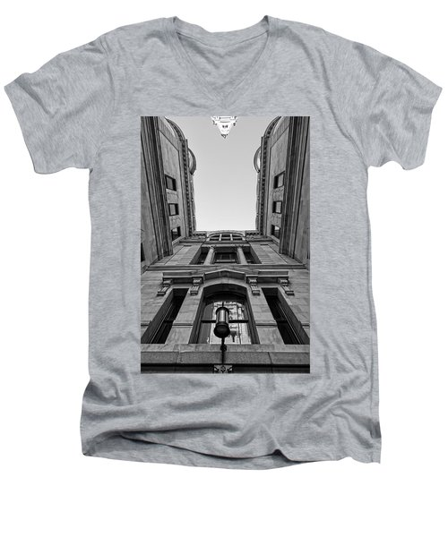 The Hall Men's V-Neck T-Shirt