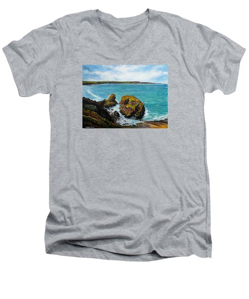 The Haven Men's V-Neck T-Shirt
