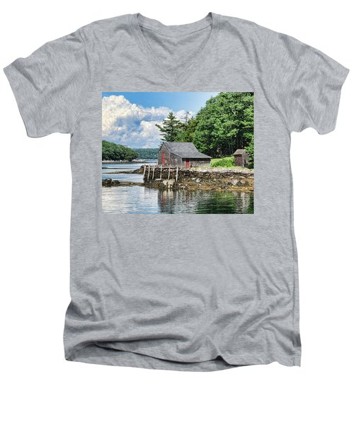 The Hideaway Men's V-Neck T-Shirt