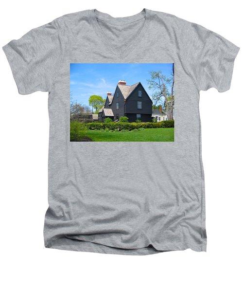 The House Of The Seven Gables Men's V-Neck T-Shirt