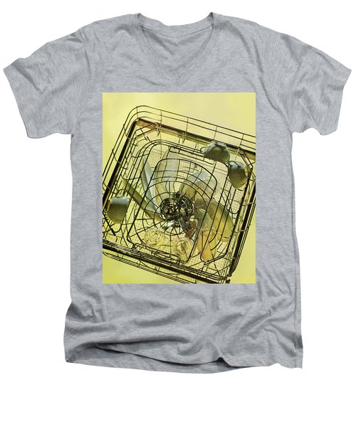 The Inside Of A Hotpoint Dishwasher Men's V-Neck T-Shirt