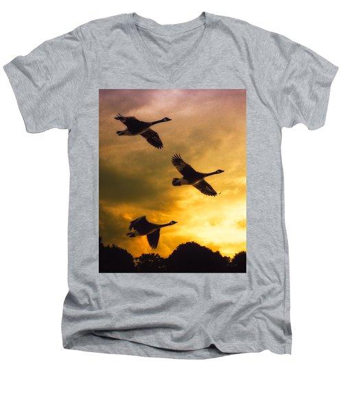 The Journey South Men's V-Neck T-Shirt