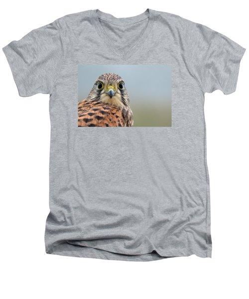 The Kestrel Face To Face Men's V-Neck T-Shirt