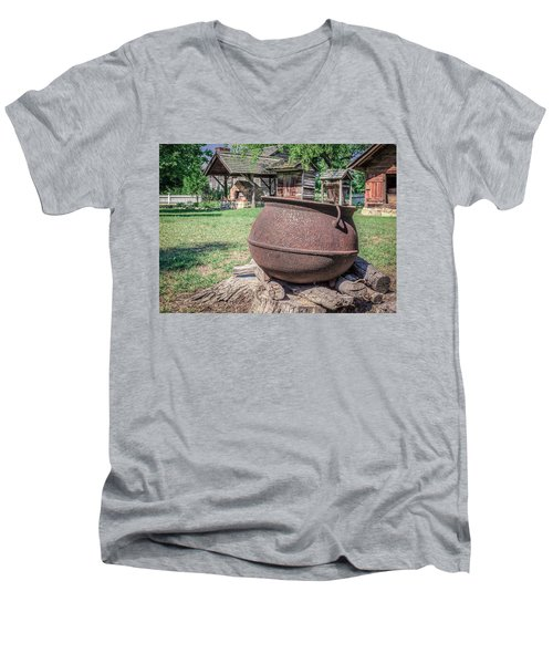 The Kettle Men's V-Neck T-Shirt