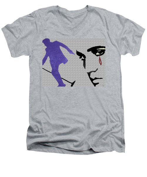 The King Of Rock And Roll Men's V-Neck T-Shirt