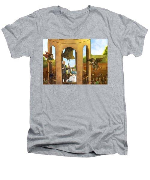 The Liberty Bell Men's V-Neck T-Shirt