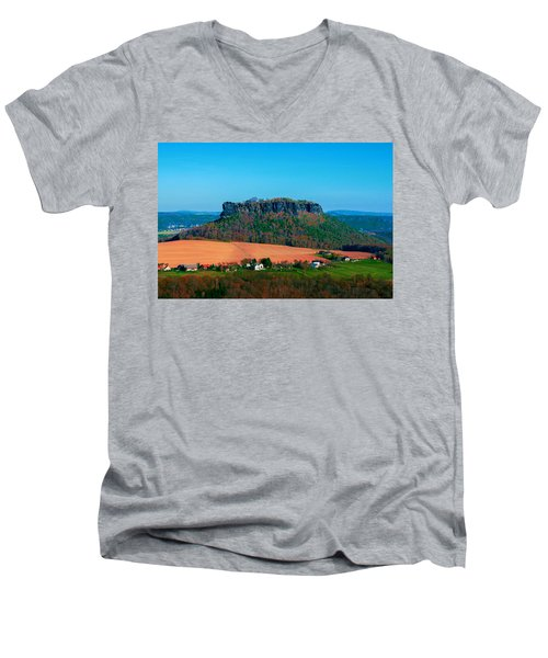 The Lilienstein Men's V-Neck T-Shirt