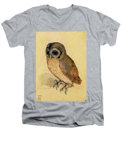 The Little Owl Men's V-Neck T-Shirt