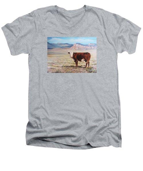 The Lone Range Men's V-Neck T-Shirt