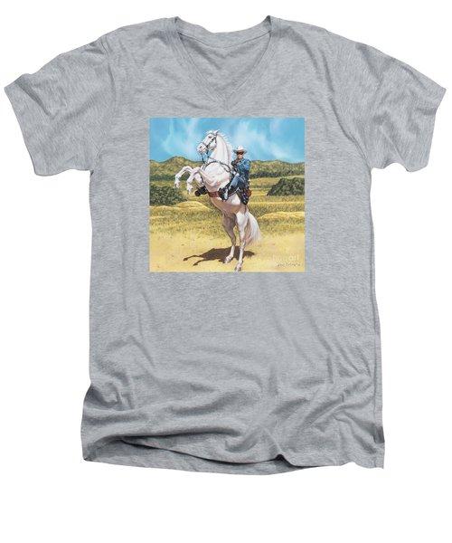 The Lone Ranger Men's V-Neck T-Shirt