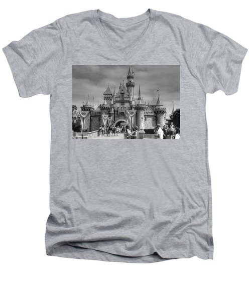 The Magic Kingdom Men's V-Neck T-Shirt