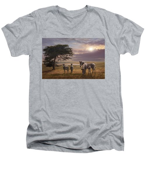 The Mane Event Men's V-Neck T-Shirt