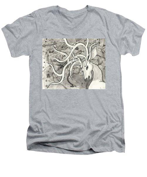 The Martyr Detail Men's V-Neck T-Shirt