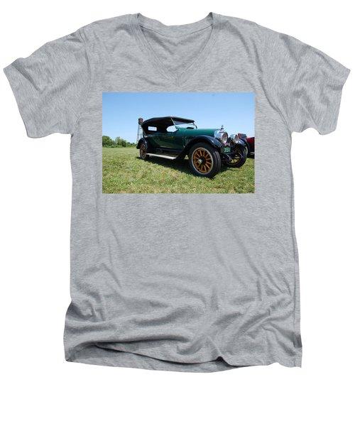 The Mercer Touring Coupe Men's V-Neck T-Shirt