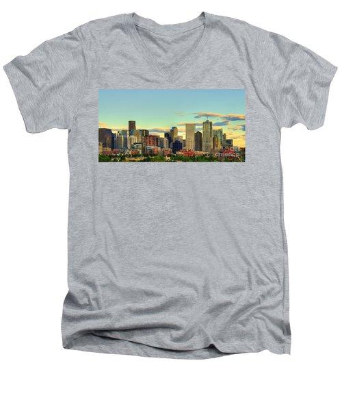The Mile High City Men's V-Neck T-Shirt