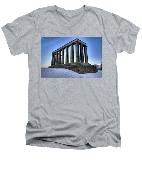 The National Monument Men's V-Neck T-Shirt