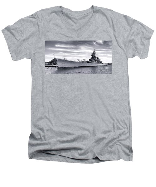 The New Jersey Men's V-Neck T-Shirt