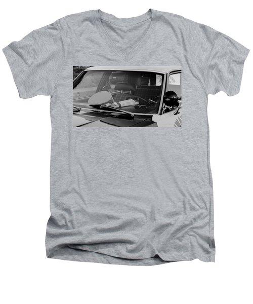 The Office On Wheels Men's V-Neck T-Shirt