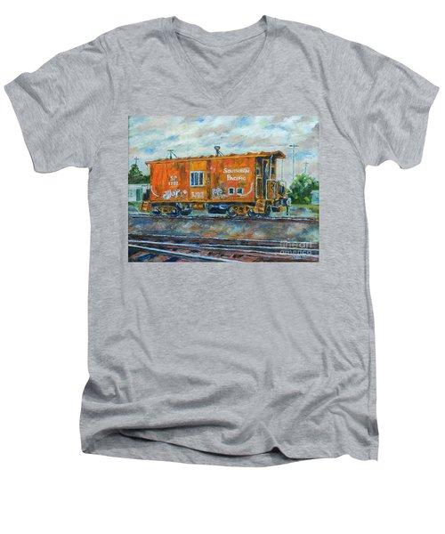 The Old Caboose Men's V-Neck T-Shirt
