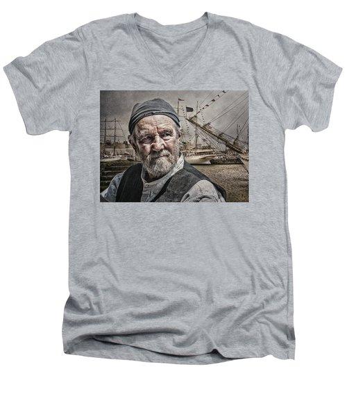 The Old Salt Men's V-Neck T-Shirt