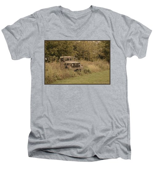 The Old Truck Men's V-Neck T-Shirt