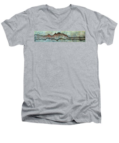 The Only Way Out Is Through Men's V-Neck T-Shirt