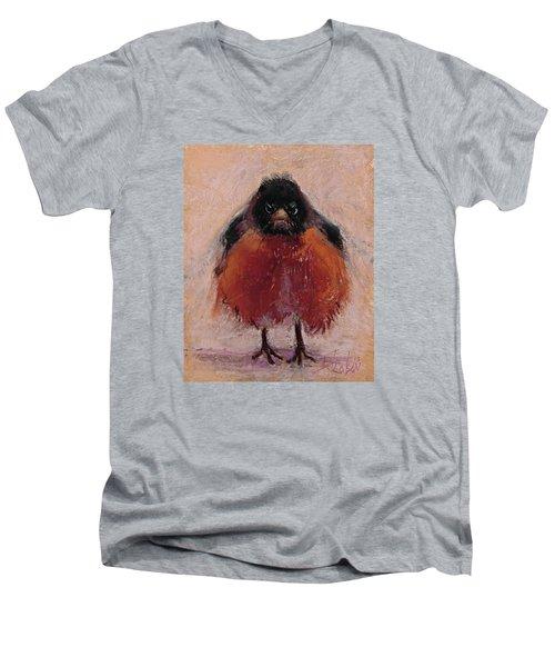 The Original Angry Bird Men's V-Neck T-Shirt