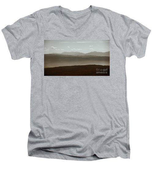 Men's V-Neck T-Shirt featuring the photograph The Other Side by Dana DiPasquale