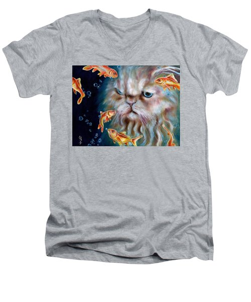 The Other Side Of Midnight Men's V-Neck T-Shirt