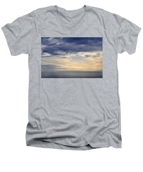 Men's V-Neck T-Shirt featuring the photograph The Pacific Coast by Kyle Hanson