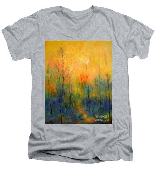 The Path To Forever Men's V-Neck T-Shirt