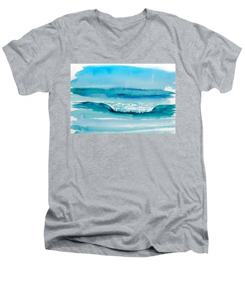 The Perfect Wave Men's V-Neck T-Shirt
