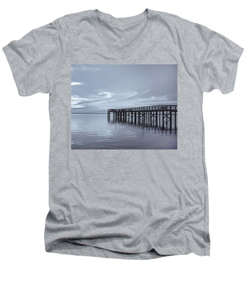 The Pier Men's V-Neck T-Shirt