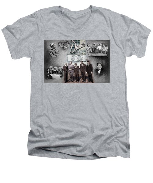 The Rat Pack Men's V-Neck T-Shirt